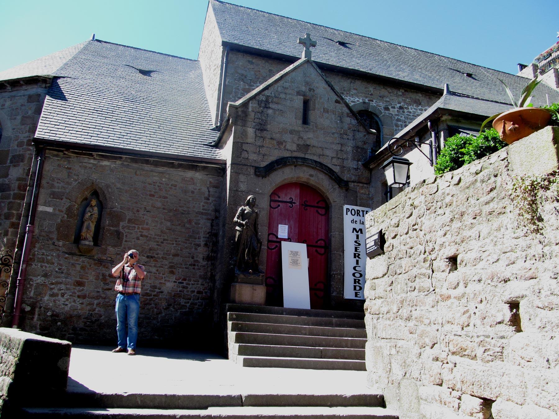 монастыри в Мон Сен Мишель