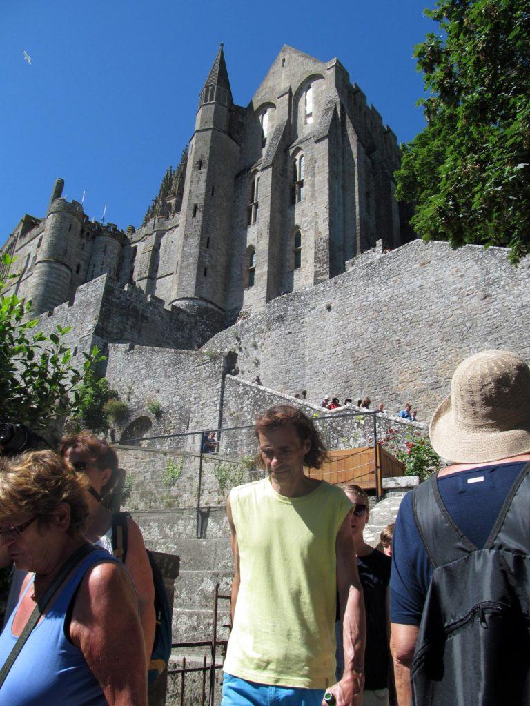 Мон-Сен-Мишель, аббатство и город