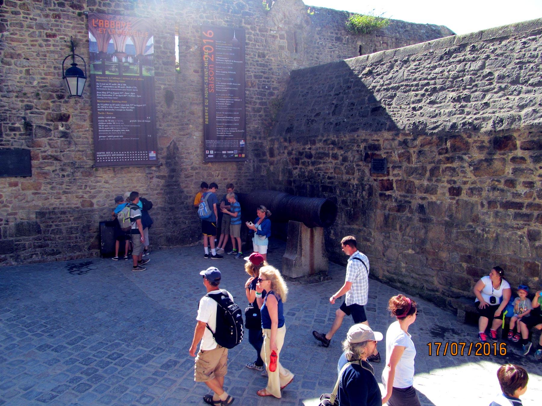 крепость Мон Сен Мишель