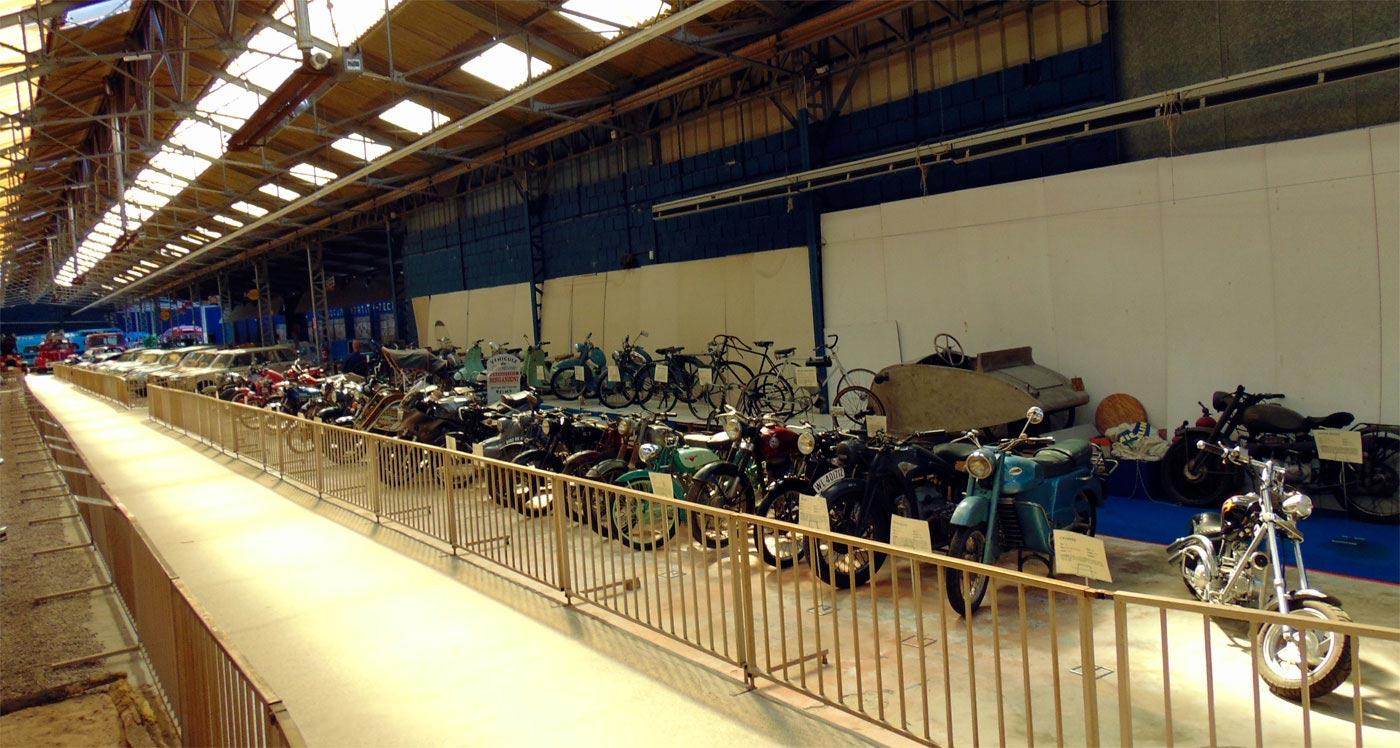 Музей автомобилей в Реймсе, мотоциклы