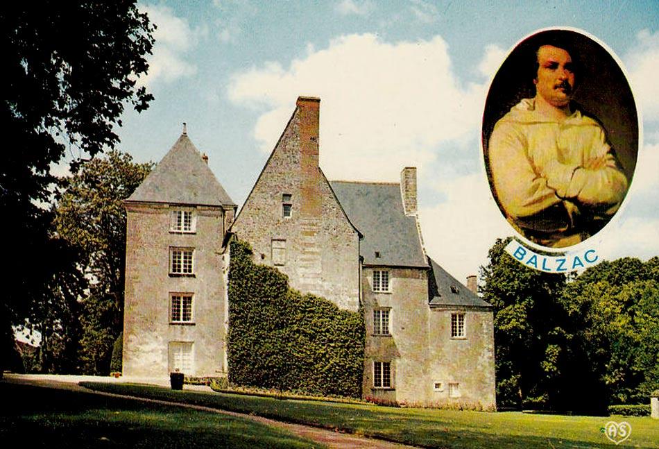 Музей Оноре де Бальзак, замок Саше