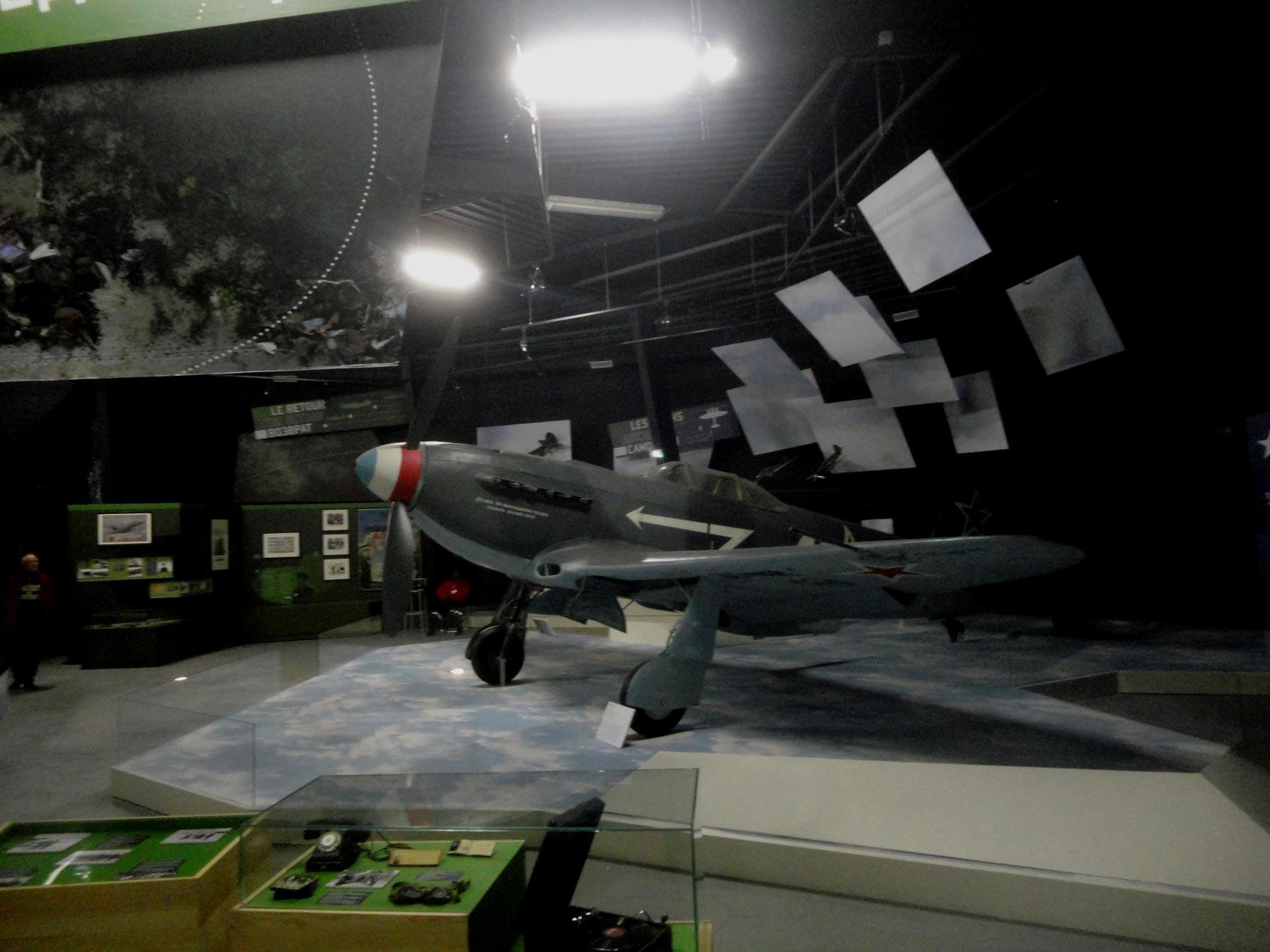 """Музей авиации и космонавтики в Ле Бурже, постоянная экспозиция """"Нормандия Неман"""""""