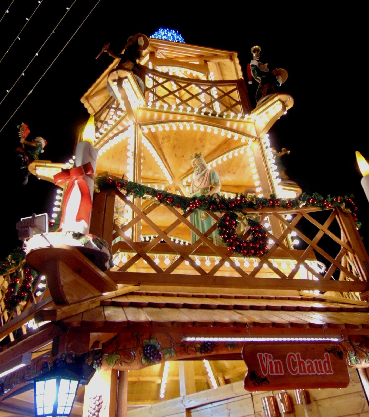 ярмарка продажа на Новый год в Париже
