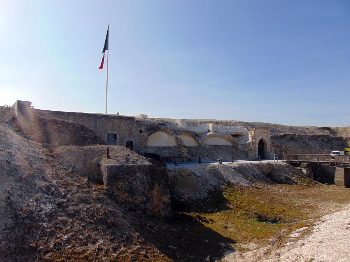 Шампань Реймс форт Помпель