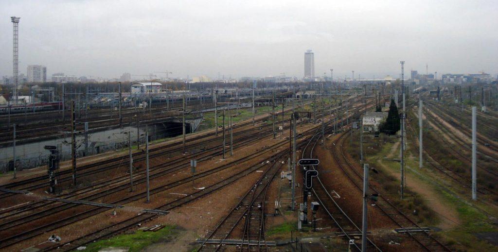 железнодорожный транспорт Франции