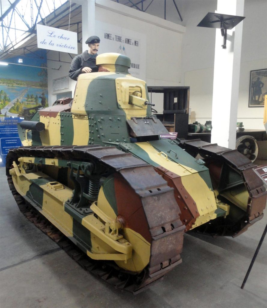 Танк Renault FT-17 музей Сомюр