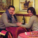 русская кухня, шампанское и французские вина в ресторане Петроград