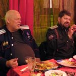 казаки в русском ресторане в Париже