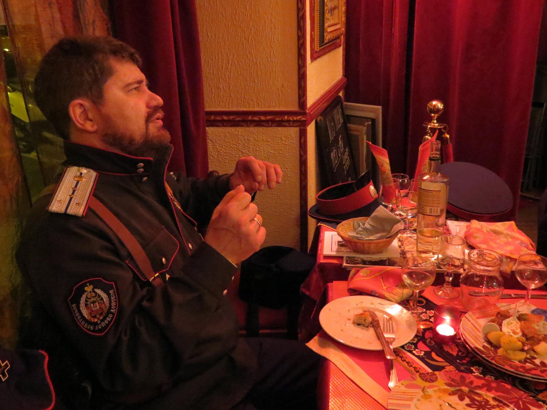 гости ресторана Петроград из Германии