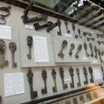 антикварные ключи музея