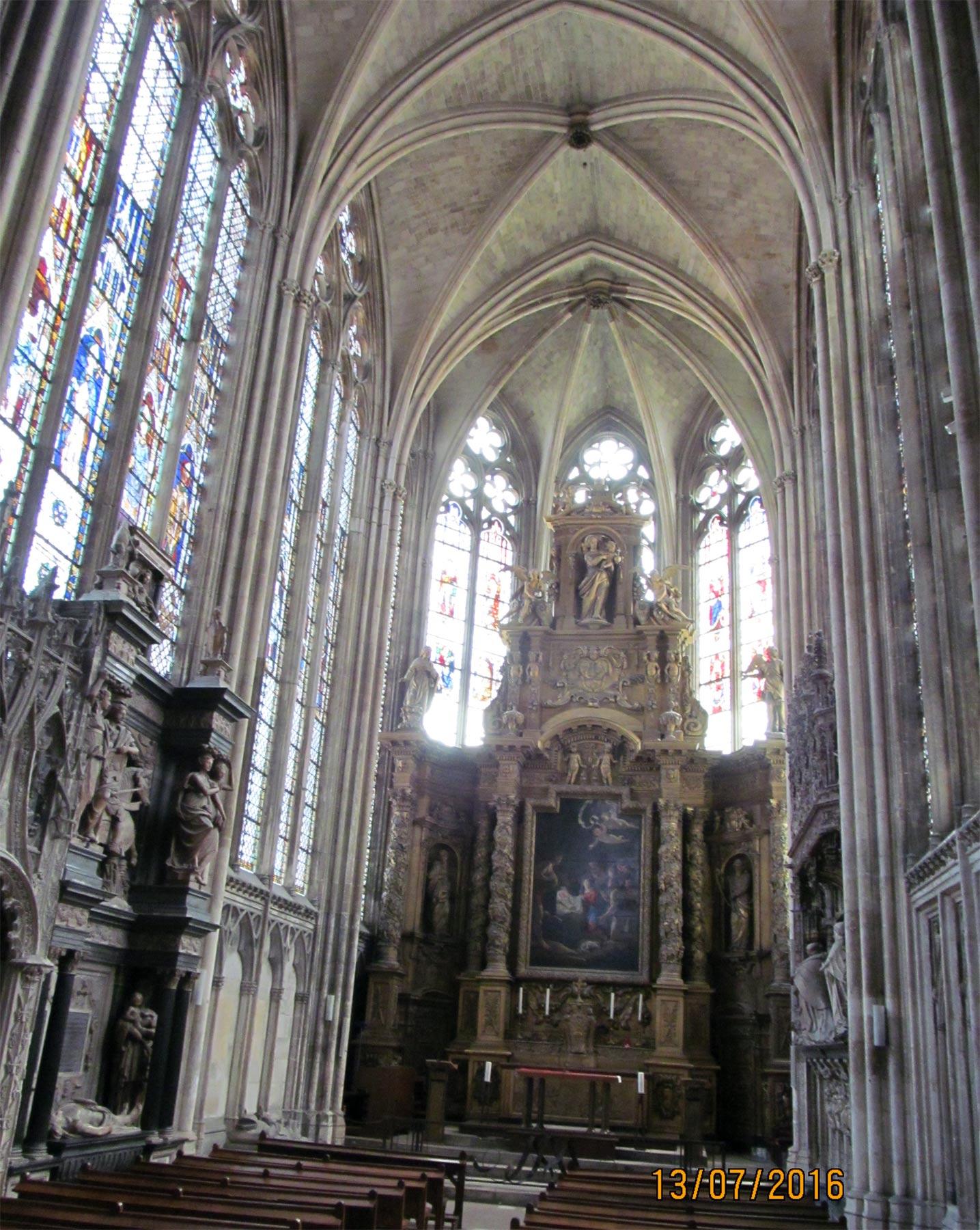 экскурсия в кафедральный Собор Руана