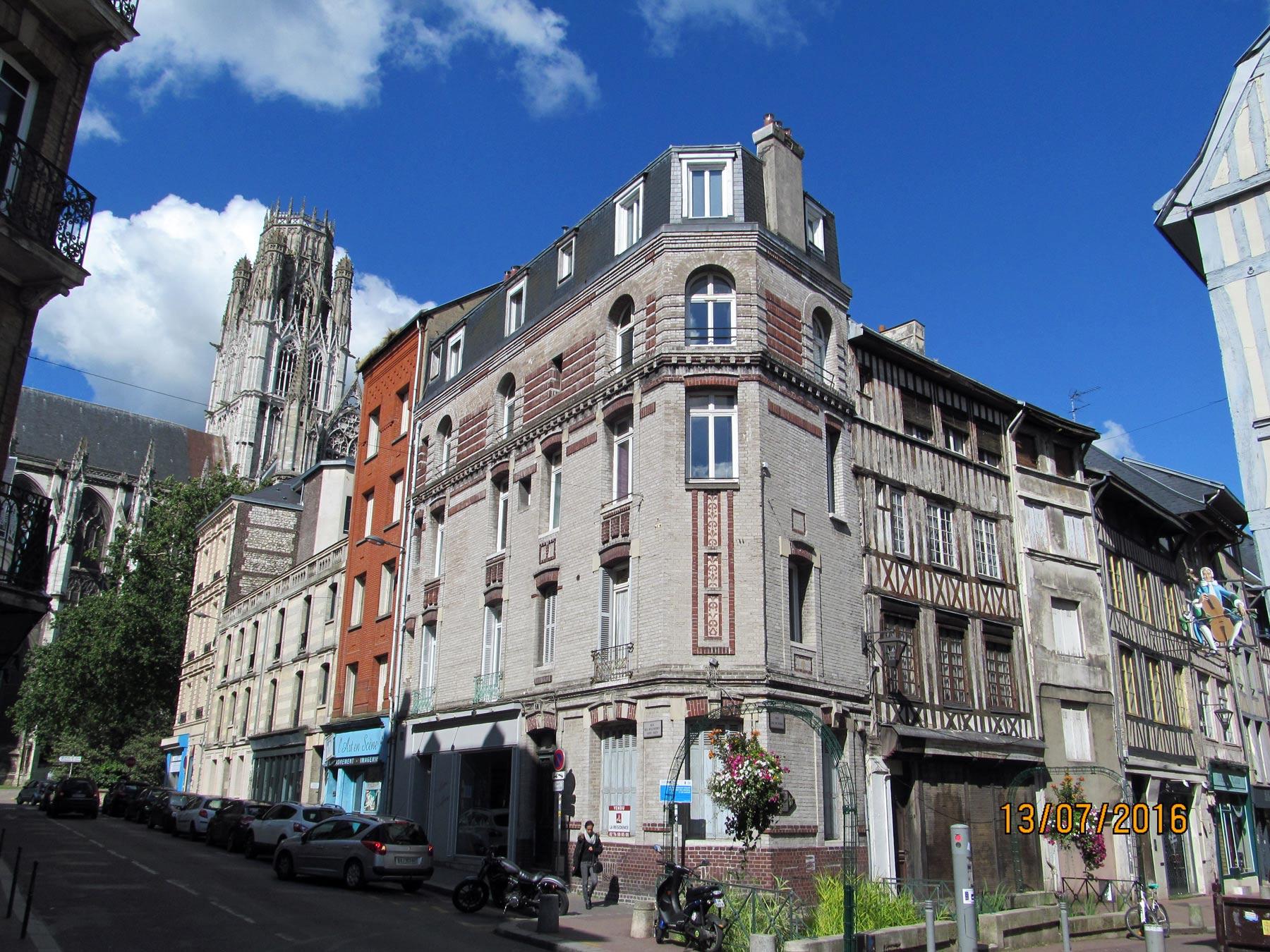 Руан, фото достопримечательностей города, экскурсия в июле