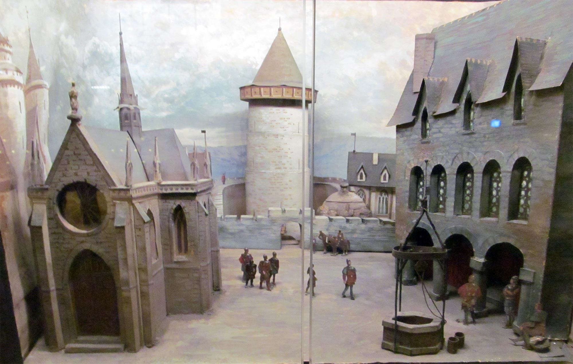 экскурсия в Норманди. Башня Жанны д'Арк