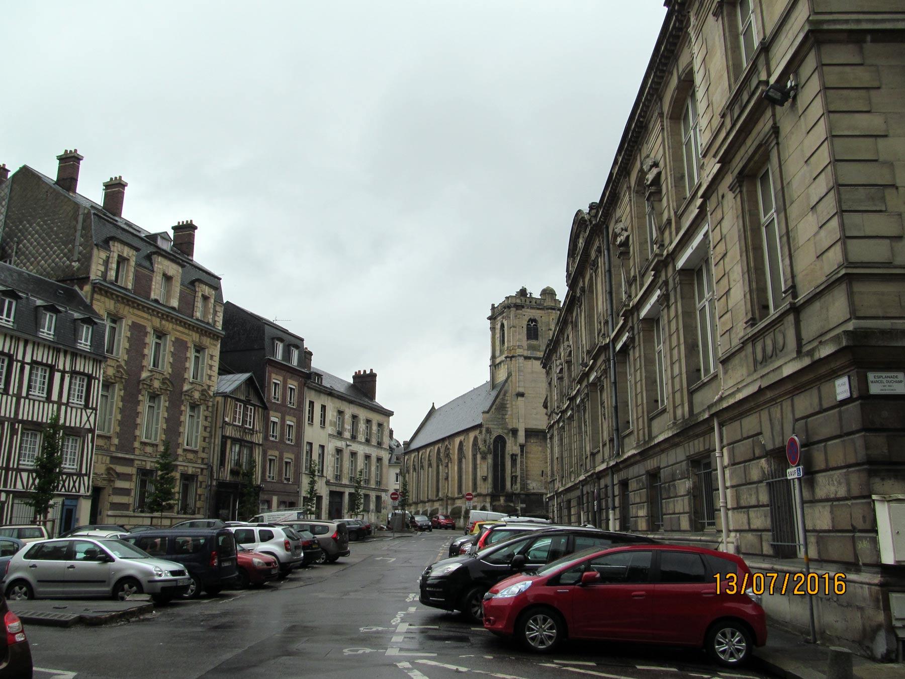 экскурсия по Руану. Нормандия.