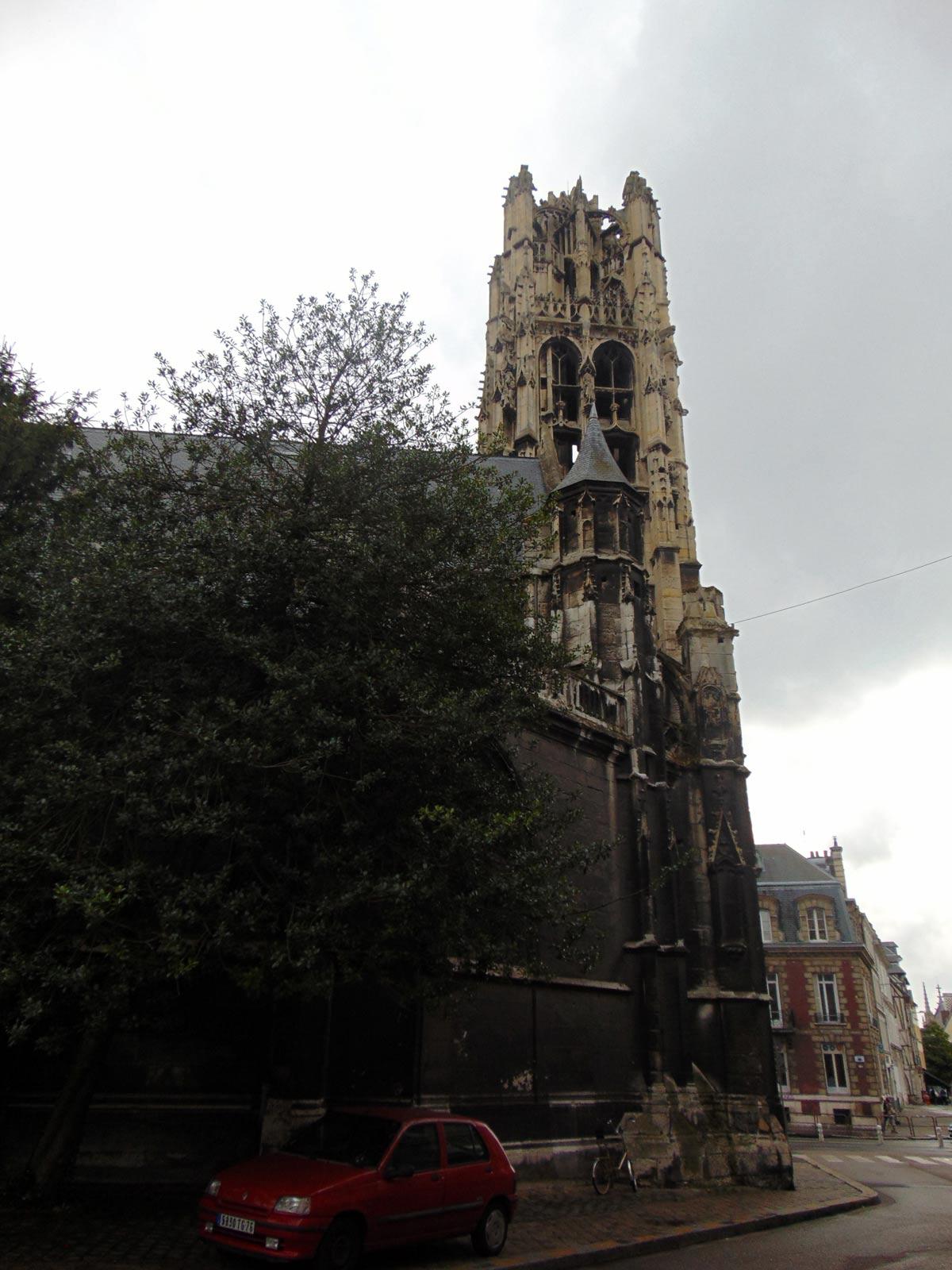 старинные церкви Руана