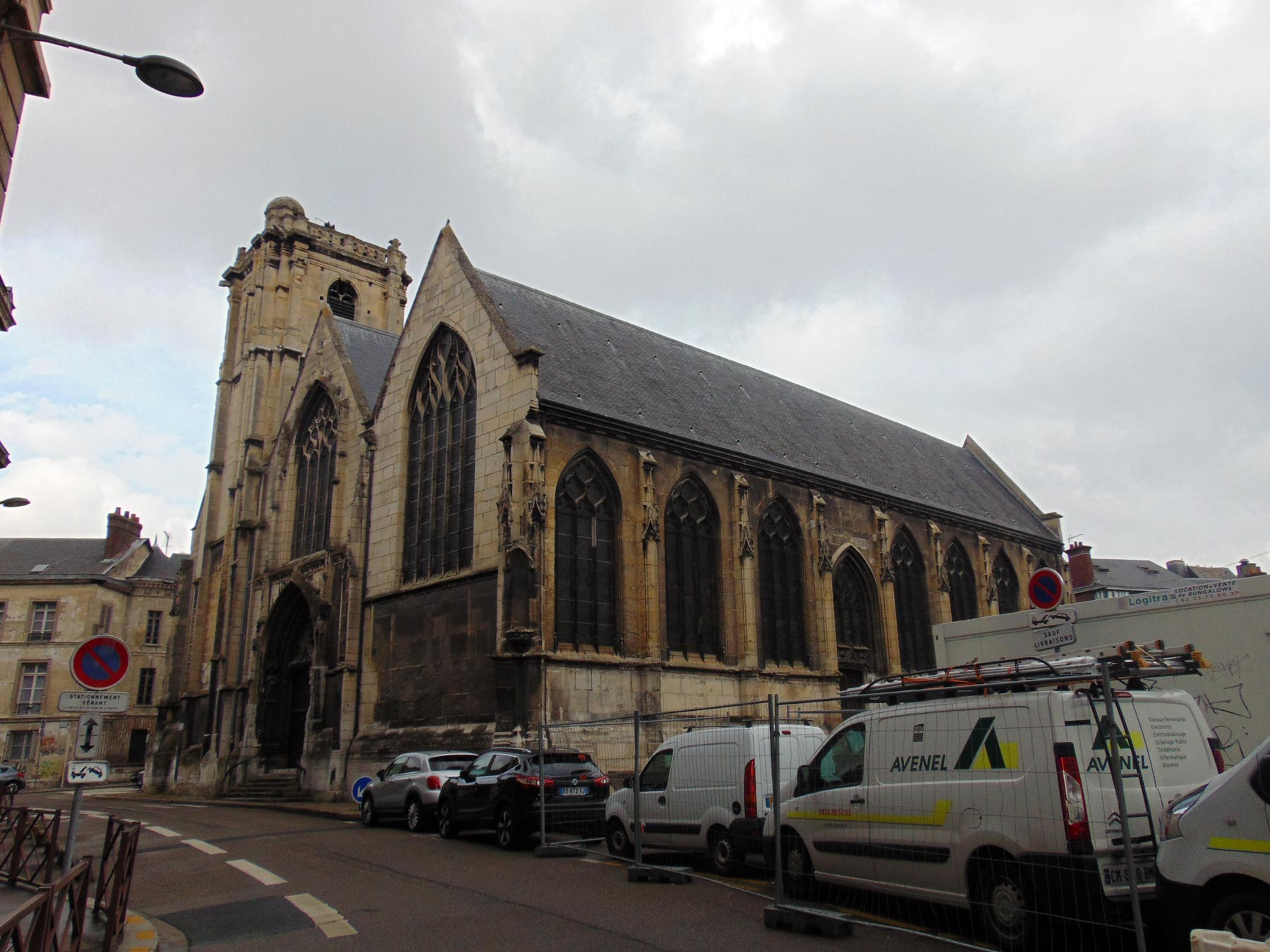 другой вид церкви