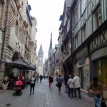 узкие улочки Руана