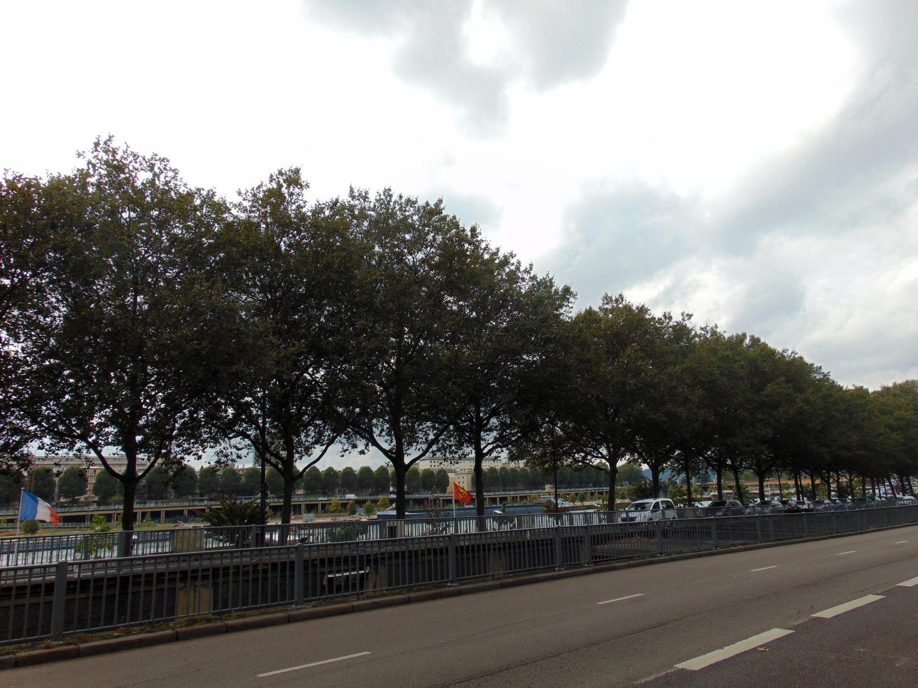 мосты и набережная Руана