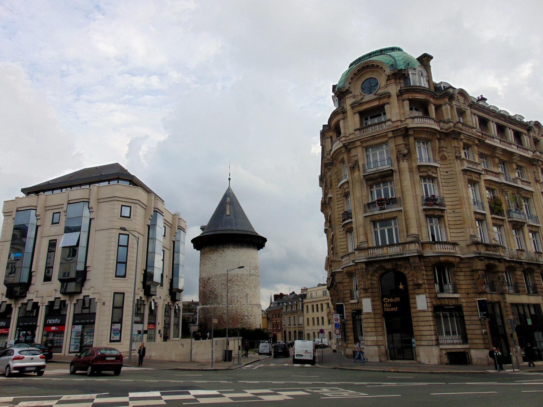 Башня Жанны д'Арк достопримечательности Руана и Нормандии