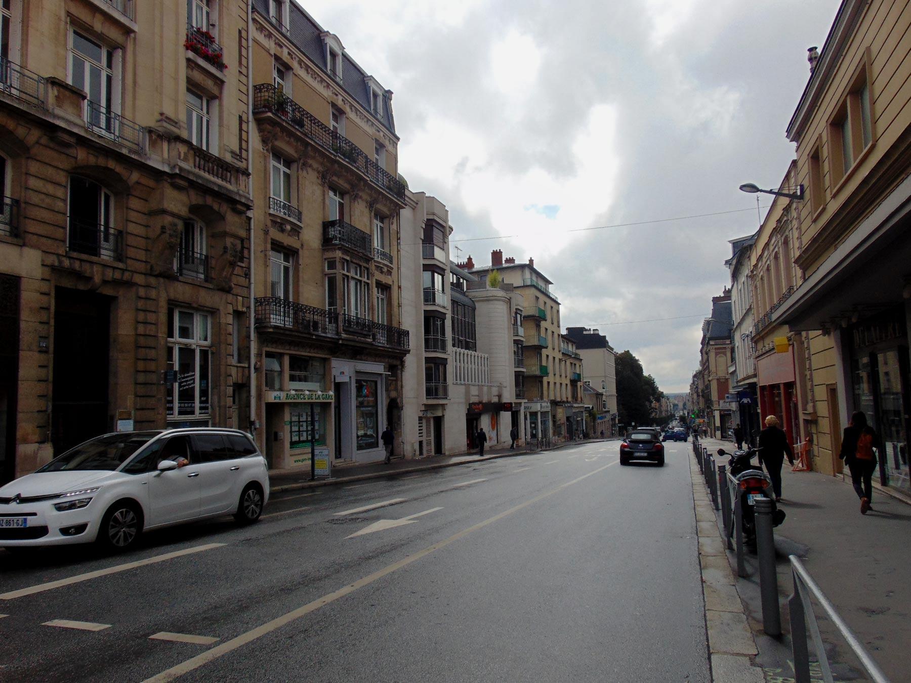 экскурсия по Руану центральная улица