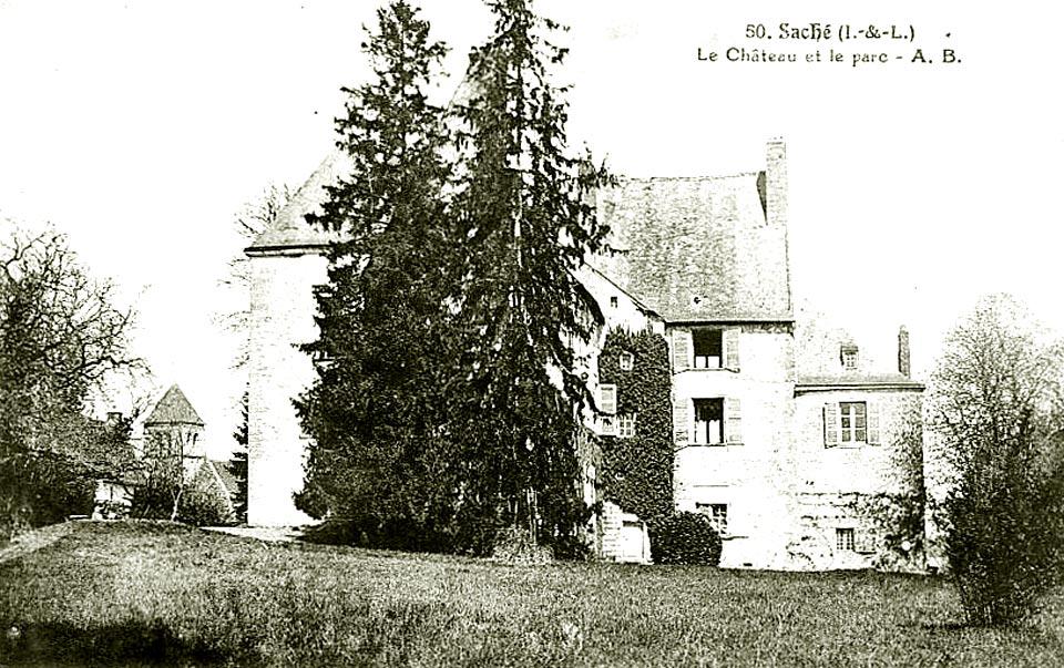 музей Оноре де бальзак в замке Саше