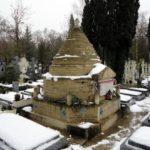 Сент-Женевьев-де-Буа зимой под снегом
