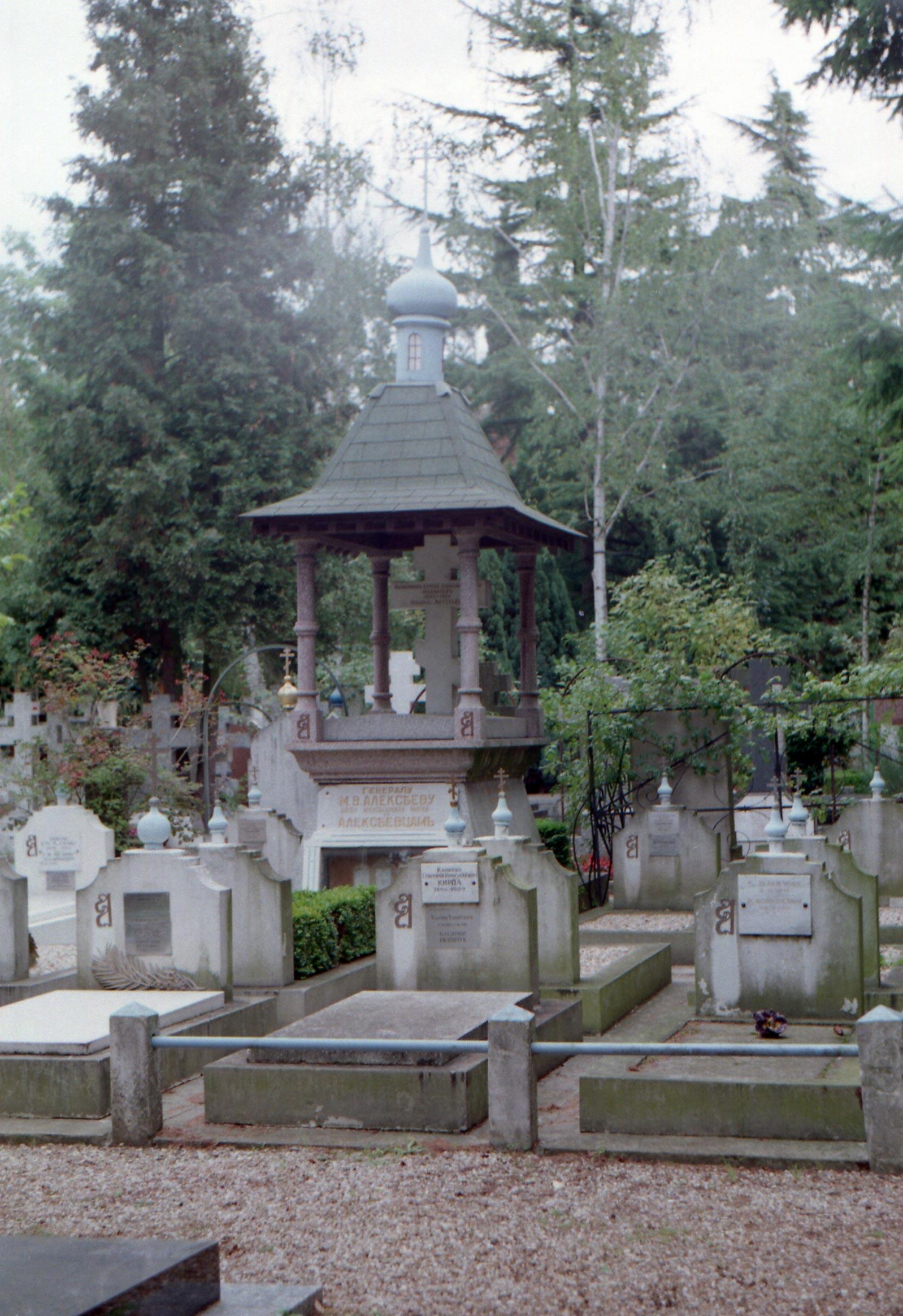 посещение русского кладбища под Парижем в 1998 году