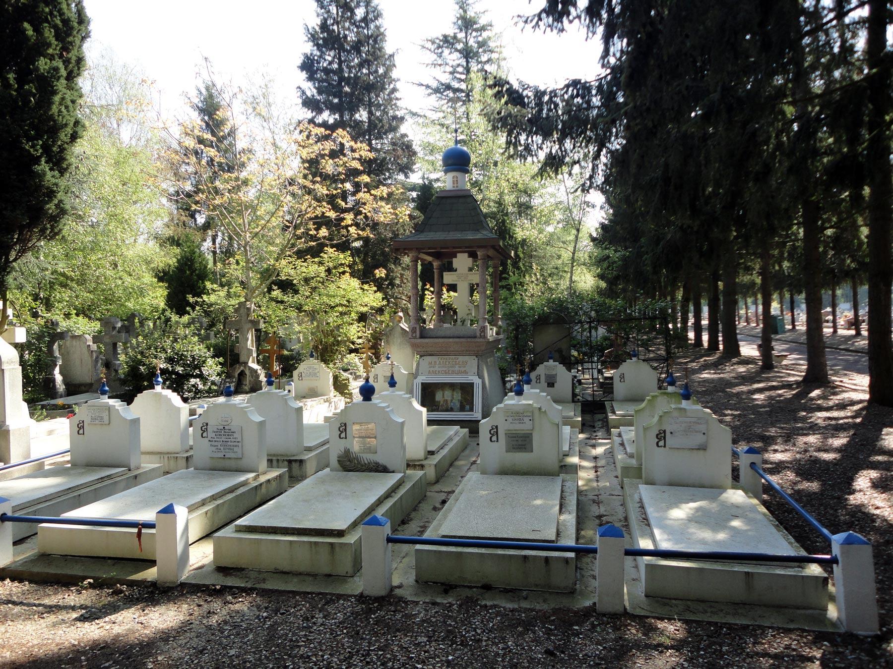 алексеевский участок на Сент-Женевьев-де-Буа