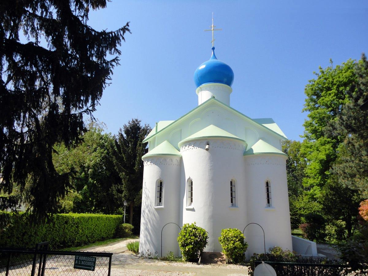 Православная Церковь на кладбище Сент-Женевьев-де-Буа
