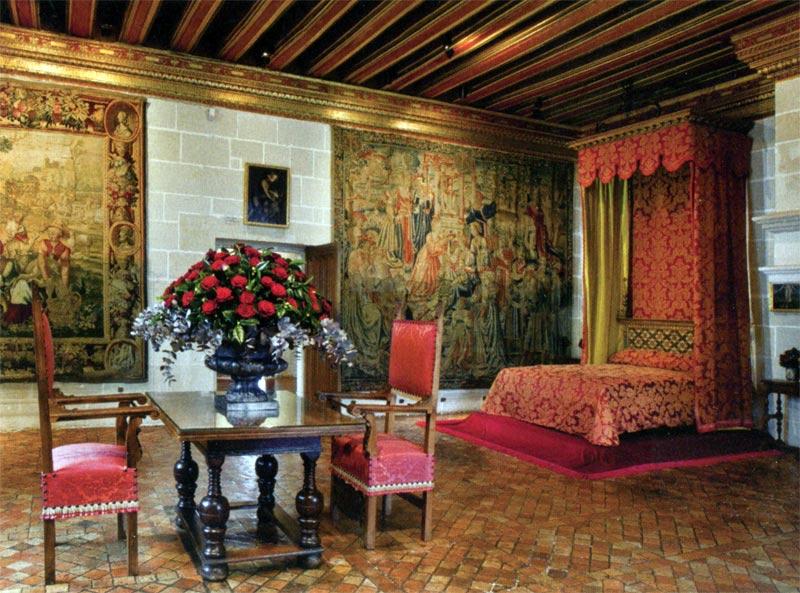 экскурсия по замку Шенонсо с гидом