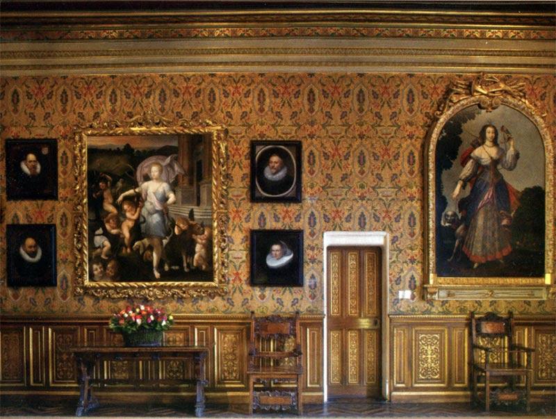 экскурсия по залам замка Шенонсо