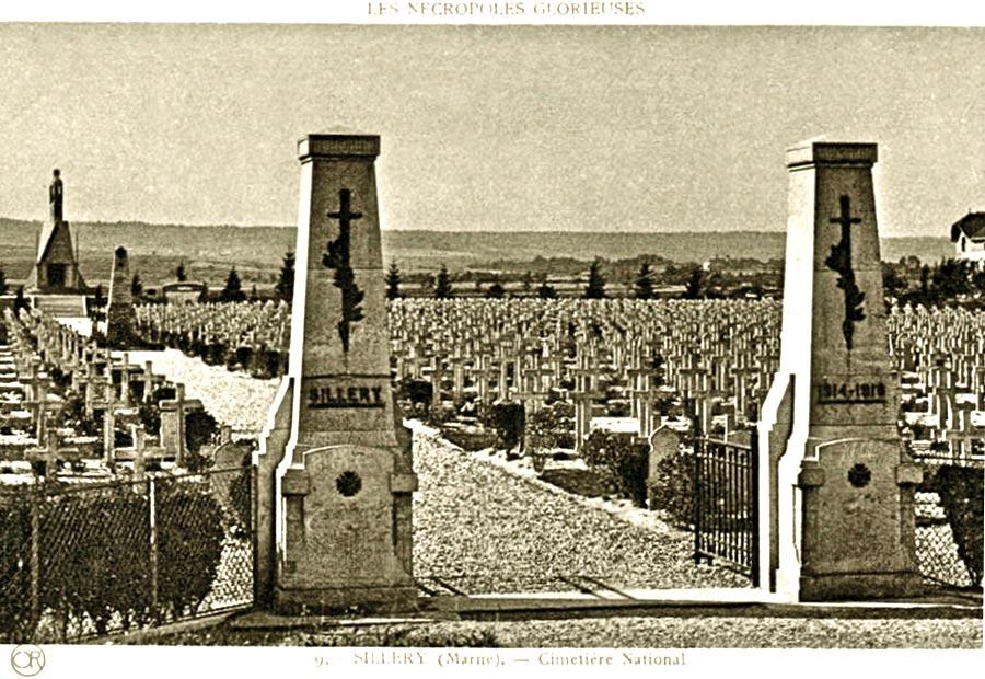 Поля сражений в Шампани, Првая мировая