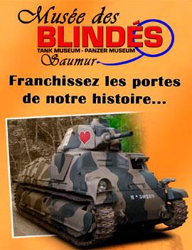 Буклет про танковый музей в Сомюре