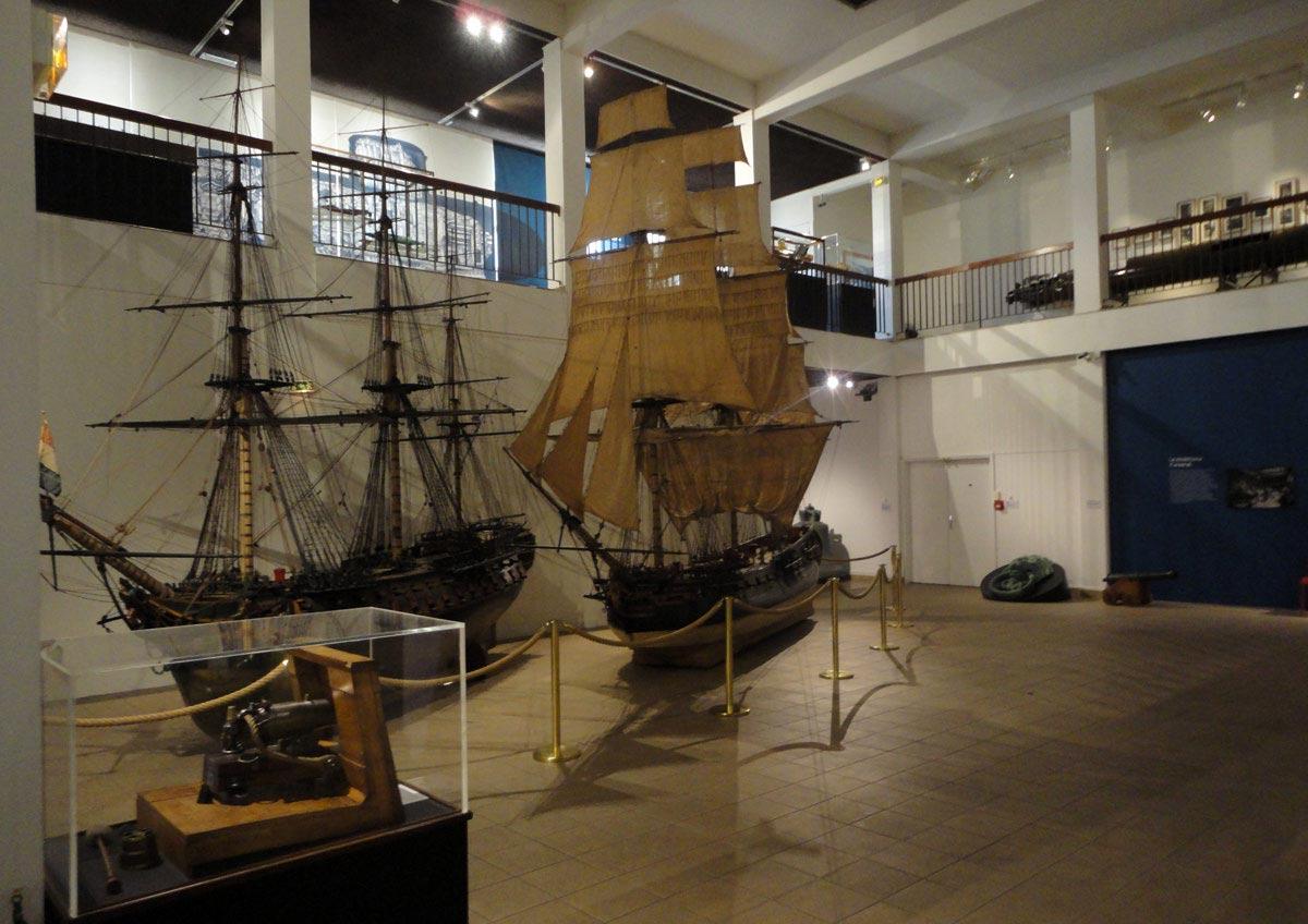 экскурсия по музею ВМФ