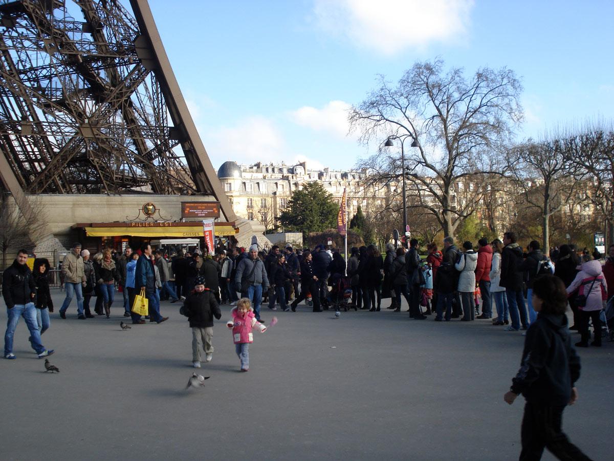 Эйфелева башня экскурсия