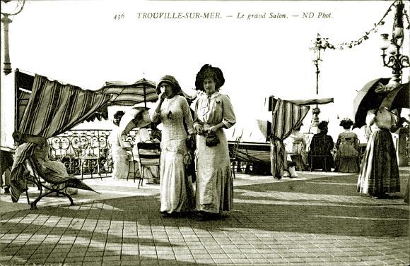Дамы приехали из Парижа