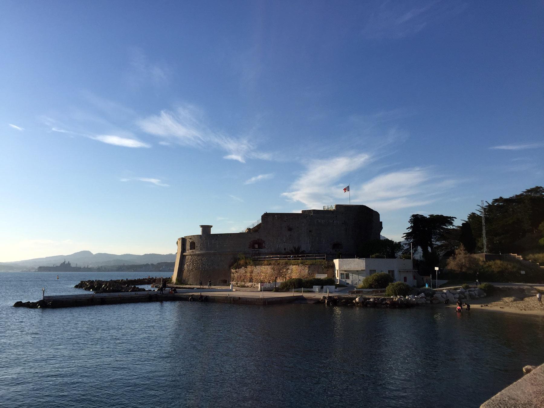 экскурсия по форту Тулона