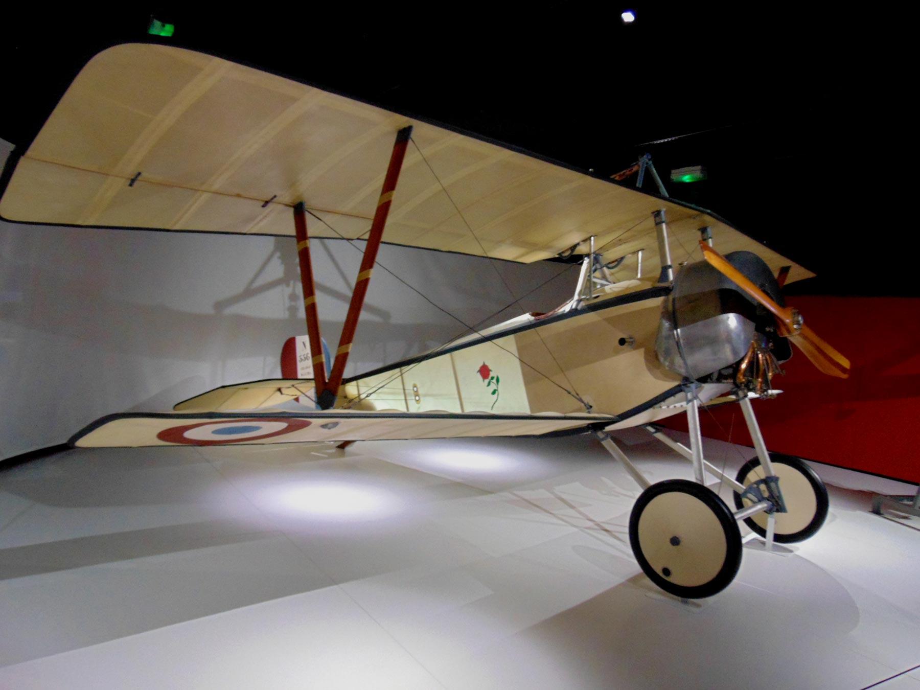 самолеты первой мировой войны в музее авиации и космонавтики в ле Бурже