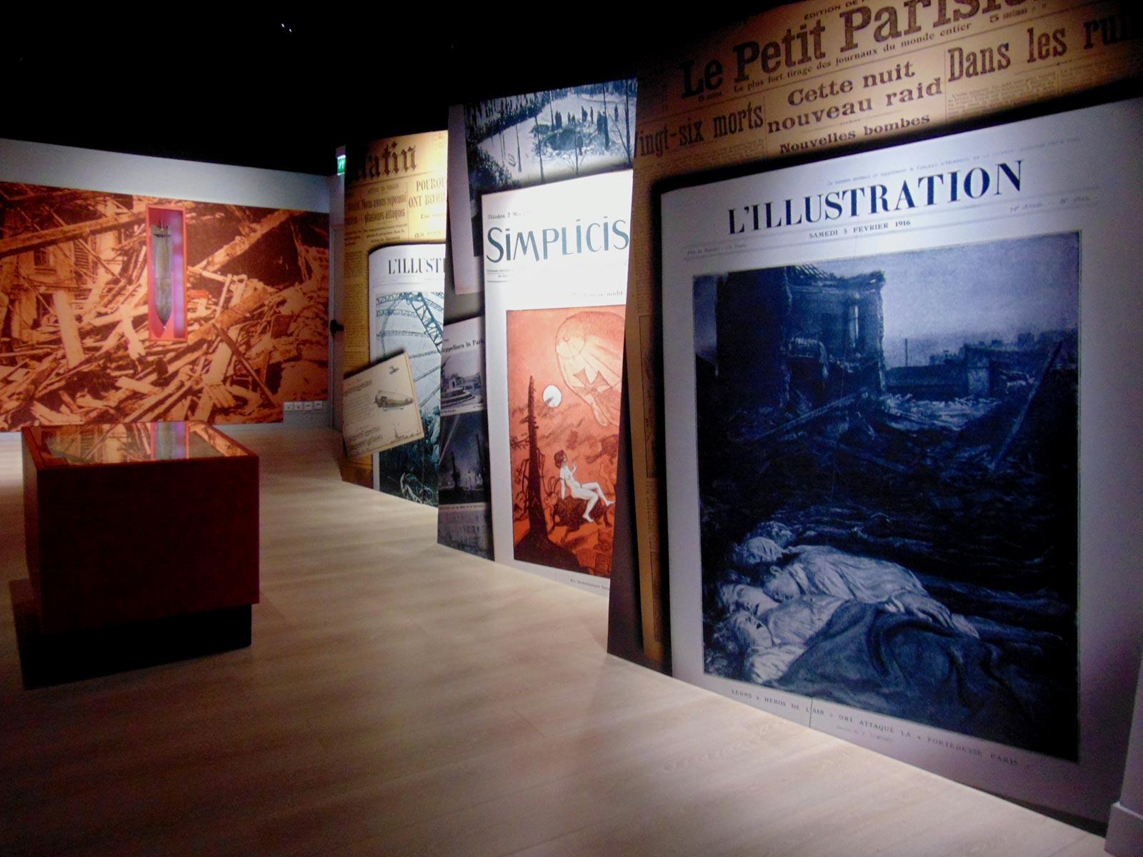 выставка пропаганды первой мировой войны, музей ле Бурже