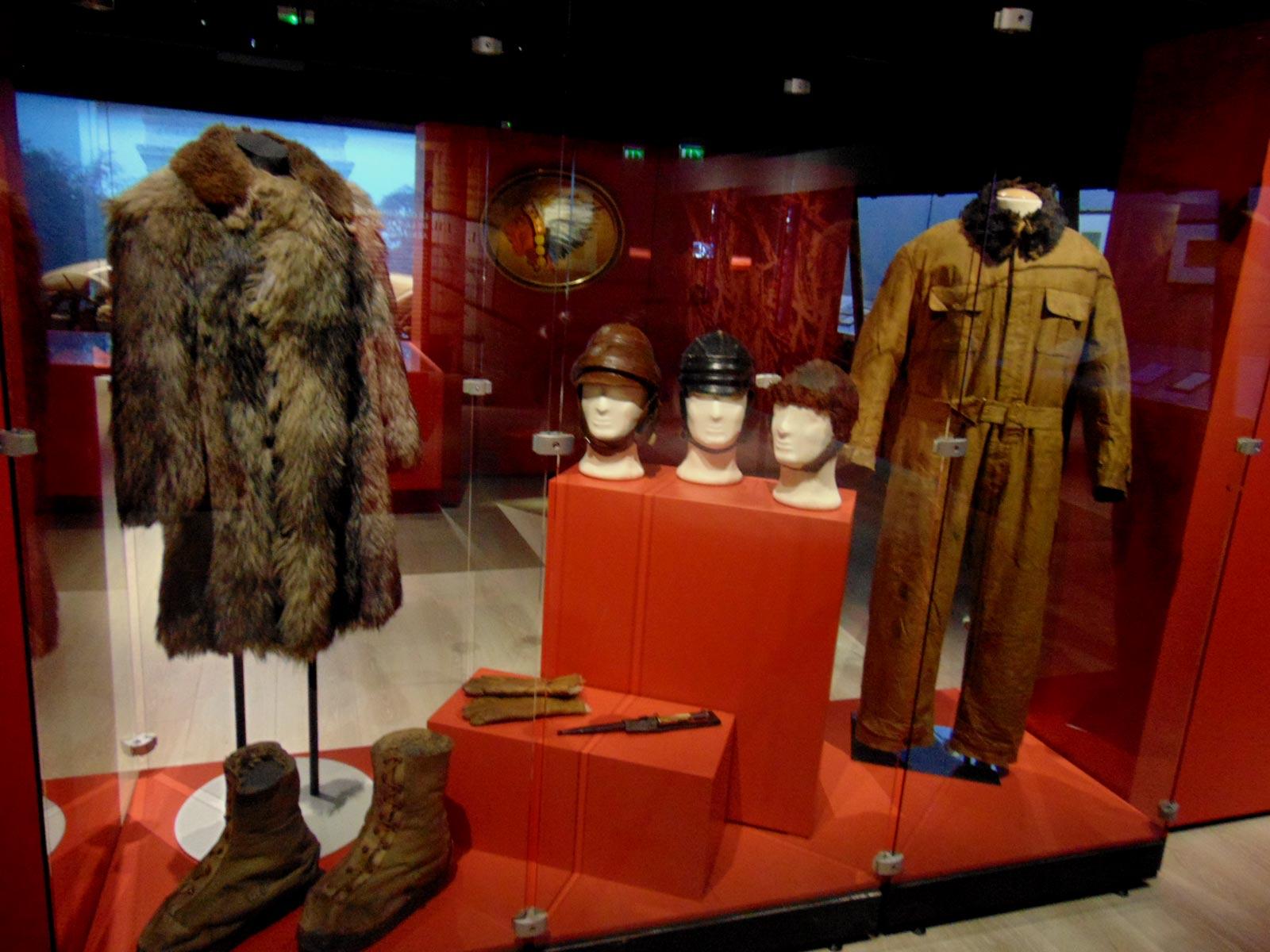 униформа авиации в первую мировую войну, музей в ле Бурже