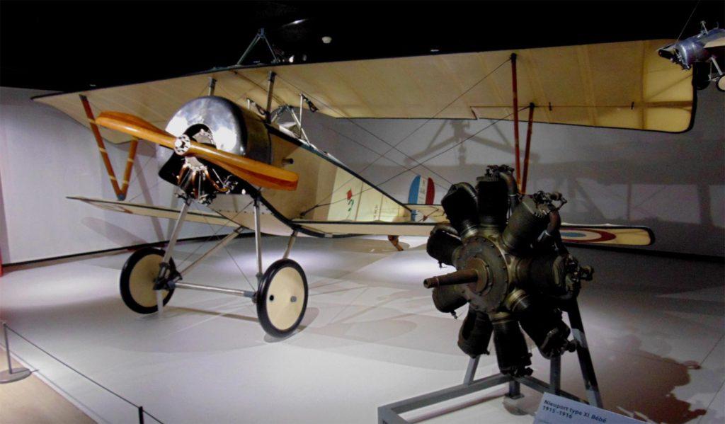 музей авиации и космонавтики ле Бурже, выставка Верден
