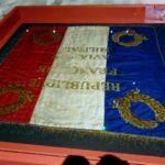 знамена первой мировой войны на выставке в музее в ле Бурже