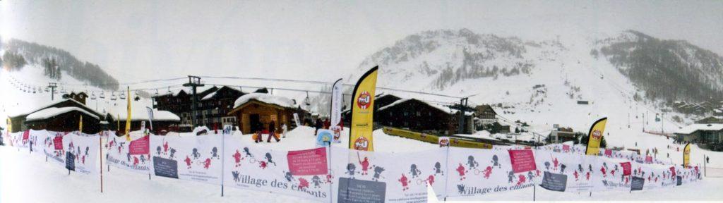 Французские Альпы зимой, горнолыжные курорты