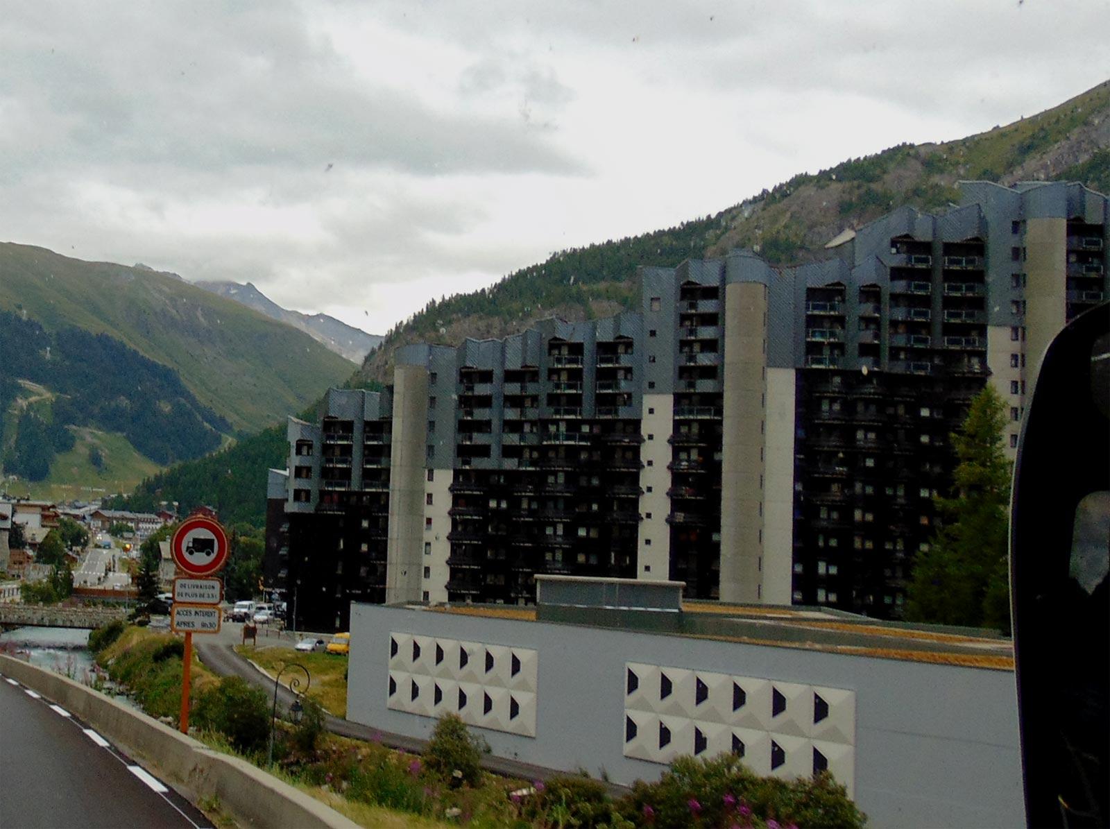 отели горнолыжный курорт Валь д'Изер