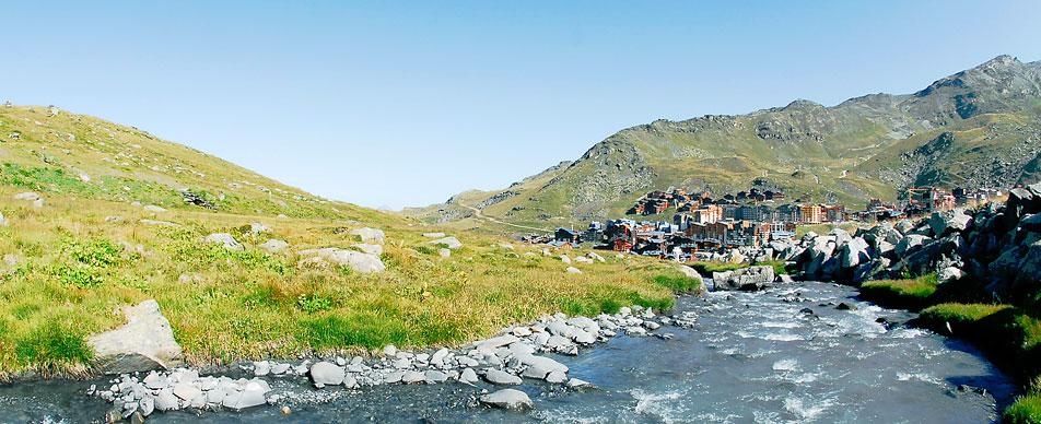 Альпы, горнолыжный курорт Валь Торанс