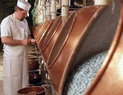 Экскурсия на кондитерскую фабрику в Верден Франция