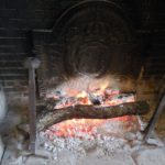 Экскурсия по замку Амбуаз имитация огня