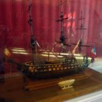 Замок Амбуаз модель судна