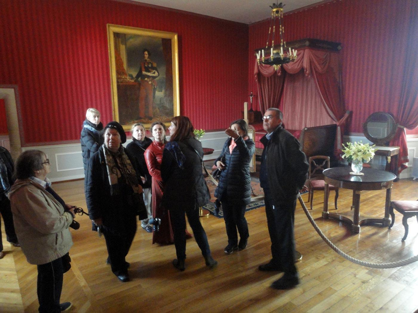 Замок Амбуаз залы герцогов Орлеанских