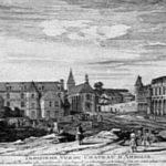 Замок Амбуаз на старых рисунках